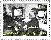 FIRST VIDEO SYNTHEZISER FIRST VIDEO ART 1966